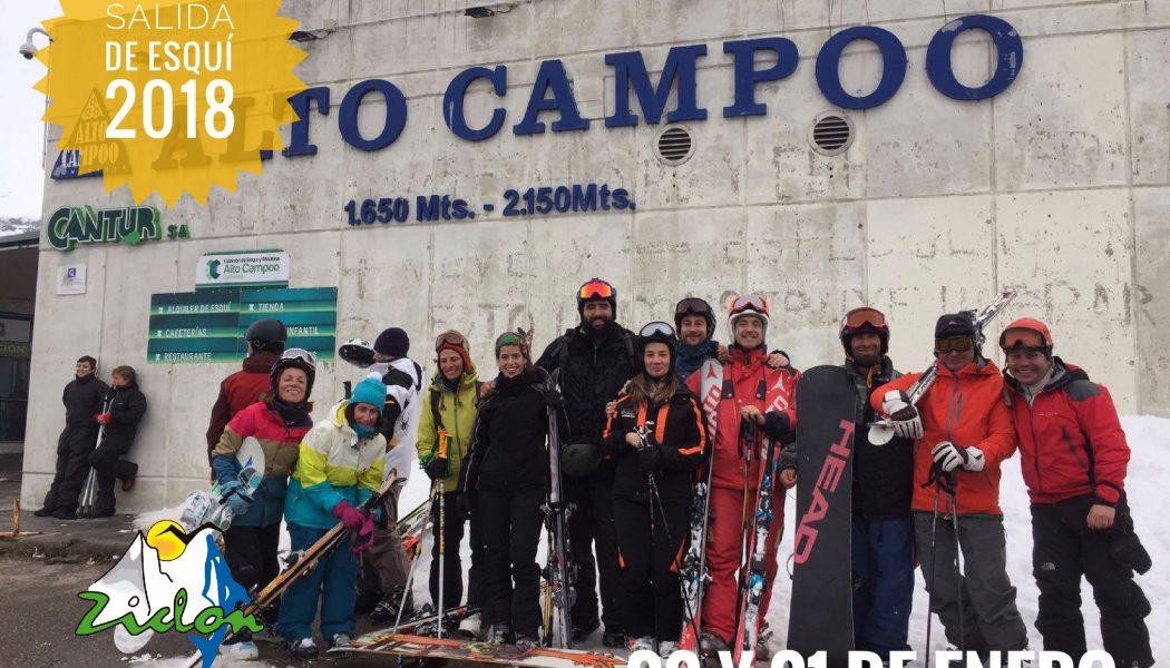 Comenzamos el año con la salida de esquí de pista