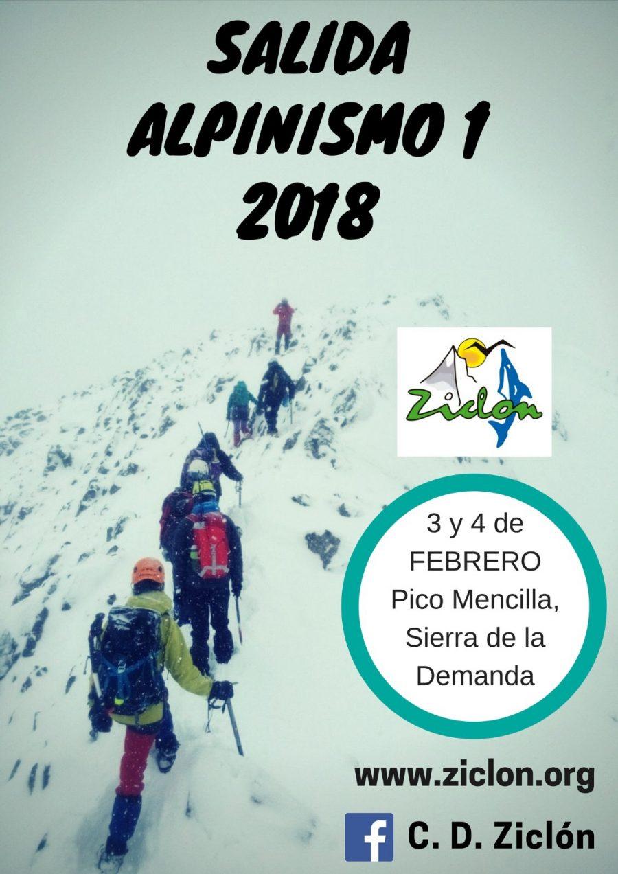 INFORMACIÓN DE LA SALIDA DE ALPINISMO I
