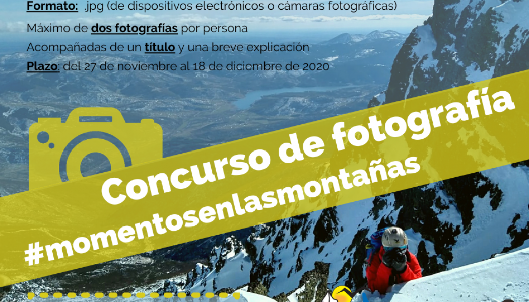 CONCURSO DE FOTOGRAFÍA DE MONTAÑA