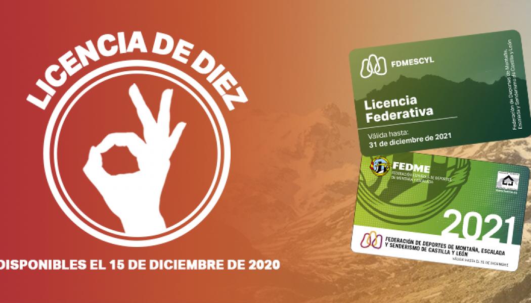 INICIAMOS LA CAMPAÑA DE LICENCIAS 2021